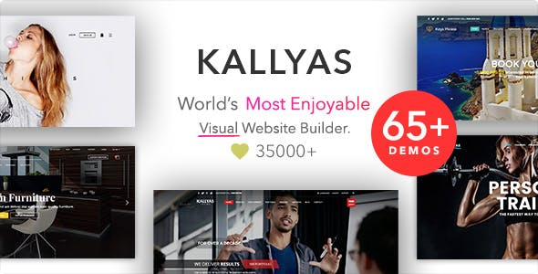 KALLYAS - Creative eCommerce Multi-Purpose WordPress Theme by hogash