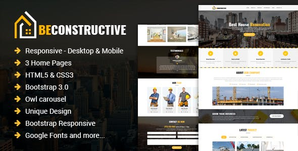 Interior Design Email Newsletter And Landing Page Templates