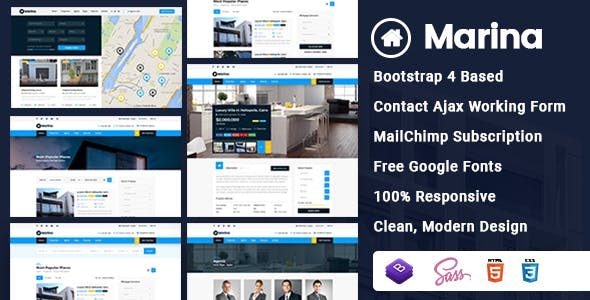map html website templates from themeforest