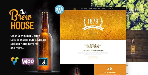 The Brew House | Brewery / Pub / Restaurant WordPress Theme