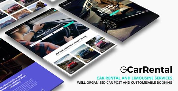 Grand Car Rental | Limousine Car Rental WordPress