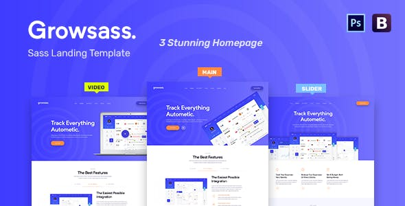 web application templates from themeforest