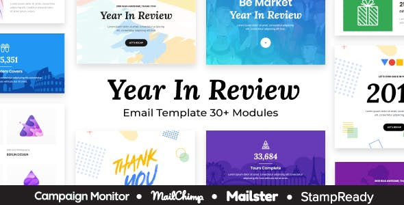 Unique Email Templates From Themeforest