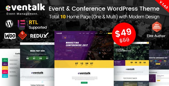 EvenTalk - Event Conference WordPress Theme for Event and Conference ... e229f36fd52