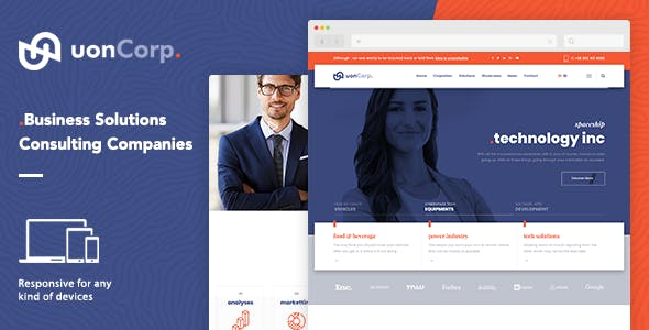 education html website templates from themeforest