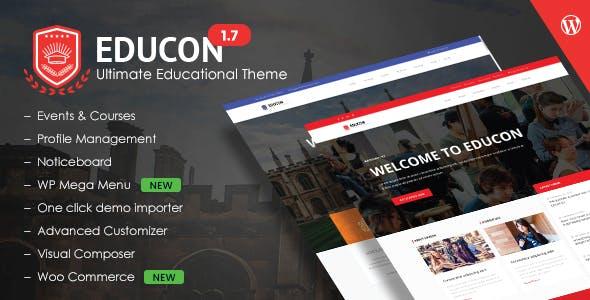 Educon - Education WordPress Theme