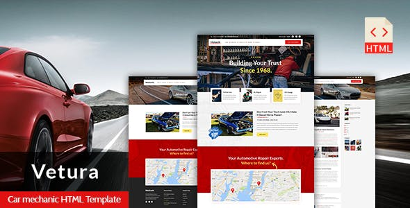 garage templates from themeforest