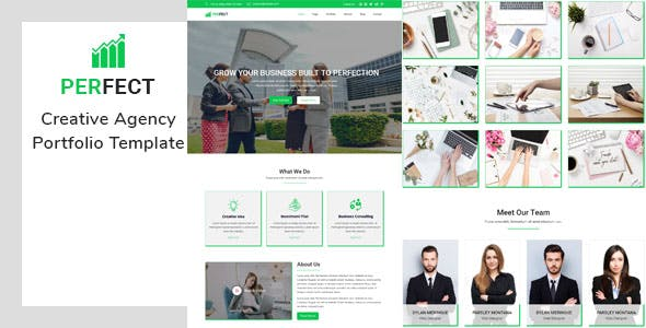 Perfect- Creative Agency Portfolio Template nulled theme download