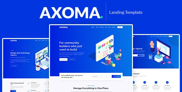 html technology website templates from themeforest