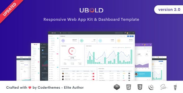 Ubold HTML Website Template from ThemeForest