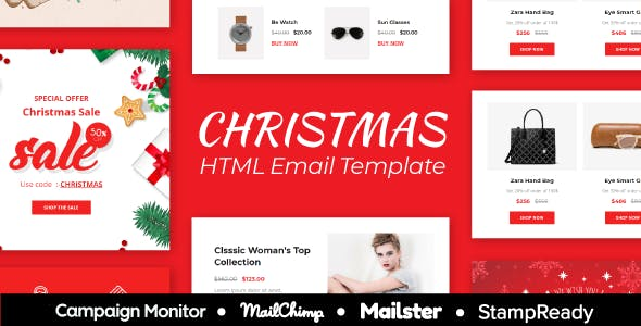Christmas Gift Website Templates From Themeforest