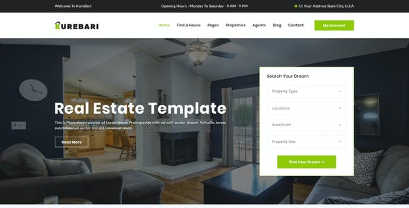 map templates from themeforest