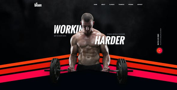 crossfit templates from themeforest