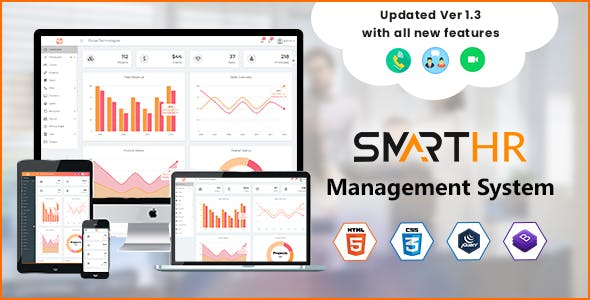 Asset Management System Invoice Management HTML Admin Website Template