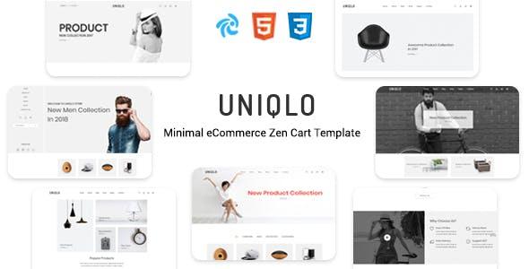 Uniqlo - Responsive Zencart Theme nulled theme download
