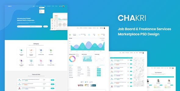 job templates from themeforest