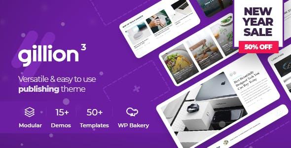 gillion multi concept blogmagazine shop wordpress theme tags restaurant website template