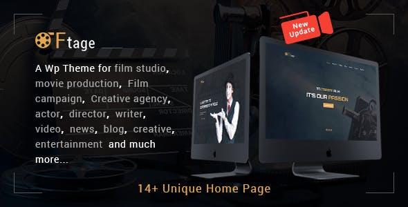 Movie Production, Film studio, Creative & Entertainment Wordpress Theme