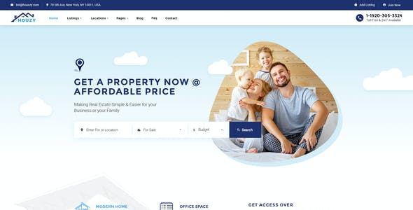 house for sale clear all houzy real estate listing psd template houzy real estate listing psd template