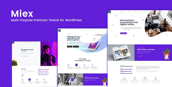 2018 s newest premium wordpress themes from themeforest