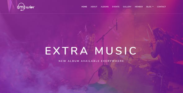Music Album Templates From Themeforest