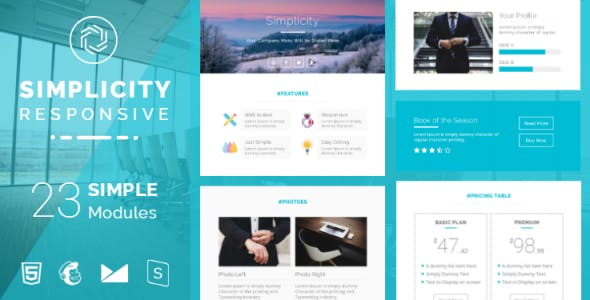 Simple Email Templates From Themeforest