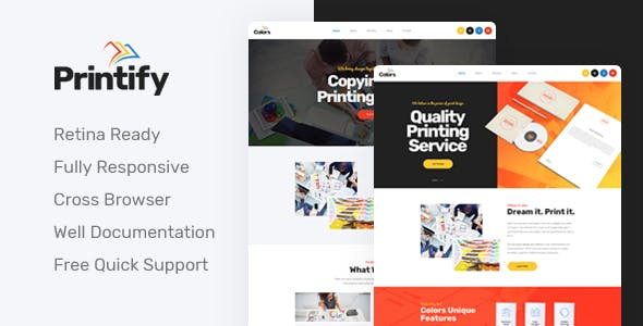 Print Templates From Themeforest