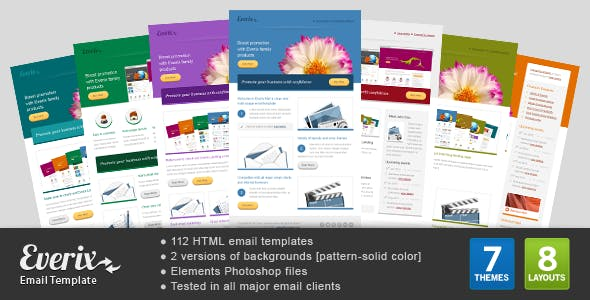 Columns And Mailchimp Templates From ThemeForest - Mailchimp template tags