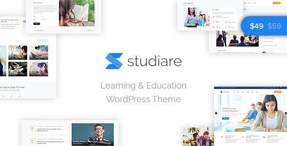 Studiare - Education WordPress Theme for Univeristy & Online Courses