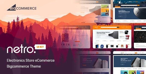 Netro -  Electronics Store Bigcommerce Theme nulled theme download