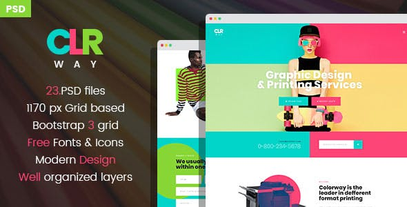 Graphic Design Templates From Themeforest