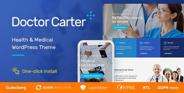 Doctor Carter - Medical WordPress Theme