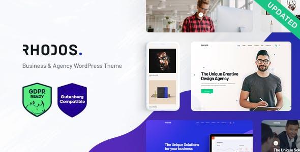Rhodos - A Colossal Multipurpose WordPress Theme for Business & Portfolio