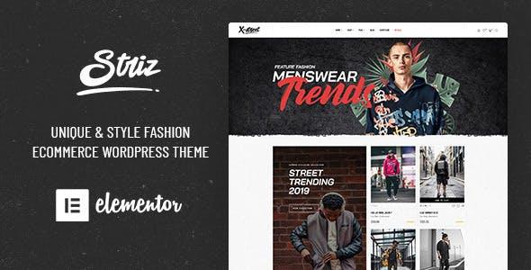 Striz - Fashion Ecommerce WordPress Theme