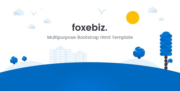 foxebiz multipurpose html template