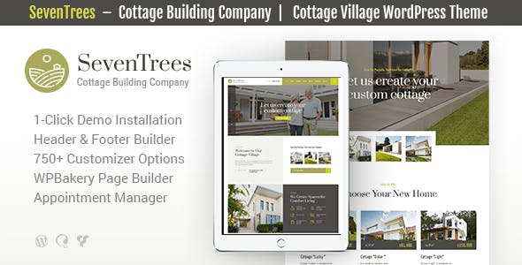 SevenTrees | Real Estate WordPress Theme nulled theme download