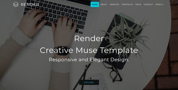 Render_Multipurpose Creative Muse Template nulled theme download