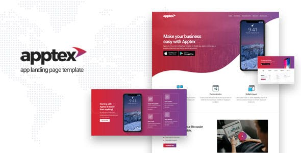 Landing Pages Templates From ThemeForest