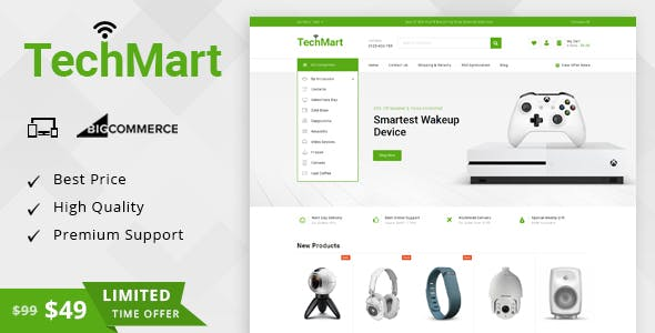 TechMart - Multipurpose Stencil BigCommerce Theme nulled theme download