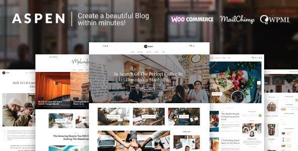 Aspen - WordPress Blog Theme