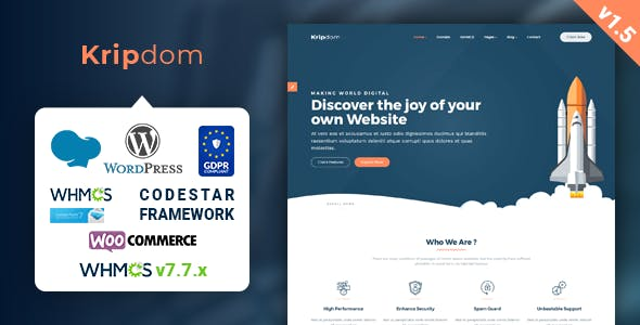 Download Singara – Multipurpose Hosting with WHMCS WordPress Themes nulled 01 kripdom