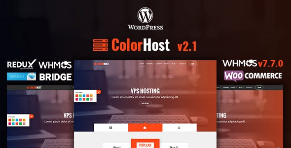 Download Singara – Multipurpose Hosting with WHMCS WordPress Themes nulled 01 colorhost