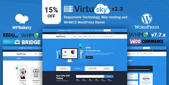 Download EcoHosting | Responsive Hosting and WHMCS WordPress Theme nulled 01 virtusky