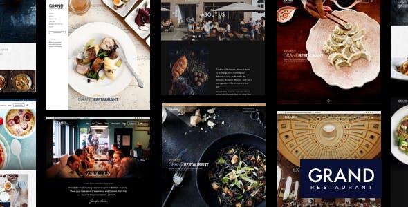 Grand Restaurant   Restaurant WordPress for Restaurant