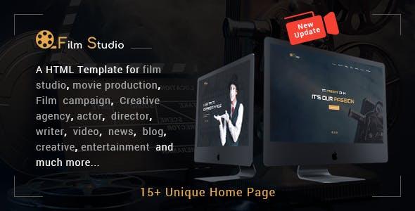 Film Studio - Movie Production, Film studio, Creative & Entertainment HTML Template