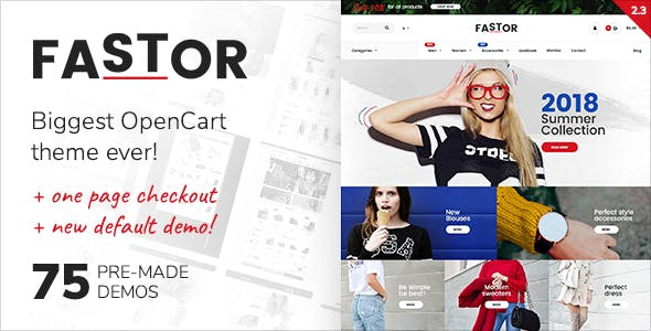 2019's Best Selling OpenCart Themes