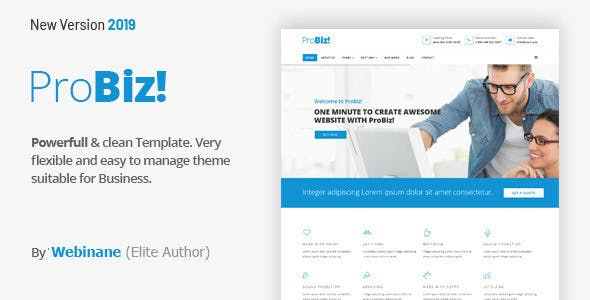 Probiz - An Easy to Use and Multipurpose Business and Corporate WordPress Theme - 18