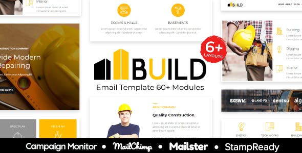 a24a9e496085d Build - Construction   Building Responsive Email Template - StampReady +  Mailster   Mailchimp
