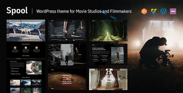 Spool   Movie Studios and Filmmakers WordPress Theme