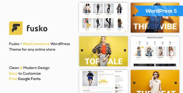 Fusko - Tech/Gadgets WooCommerce WordPress Theme